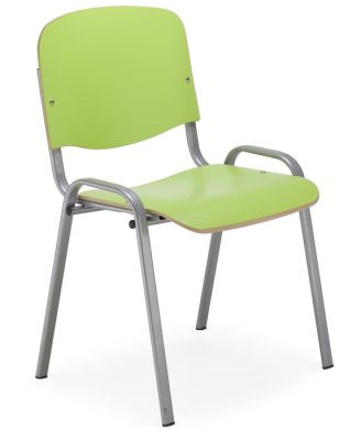 Iso Chair Lime Green Laminate