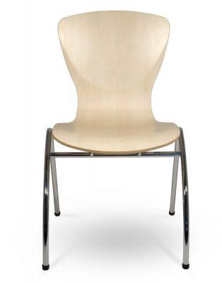 Bingo Chair Laminate Finish Front Shot