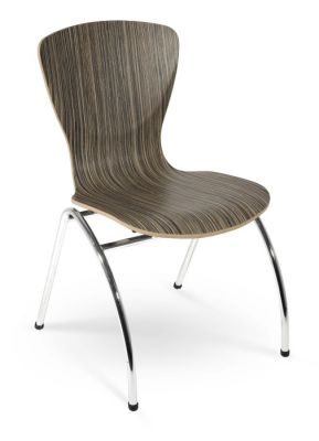Bingo Chairs In A Laminate Finishes