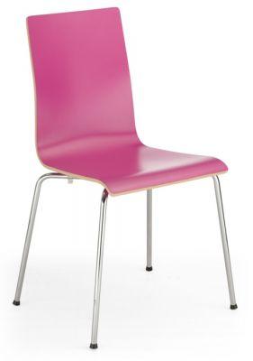 Piazza 7 Cafe Chair In Fuschia