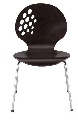 Lakka Laminated Cage Chairs Wenge Laminate