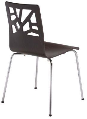 Verona Plywood Chair Rear View