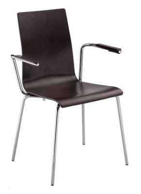Carida Cafe Chair With Arms
