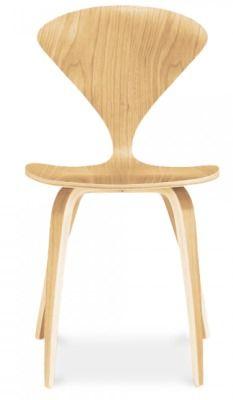 Cherner Dining Chair In Light Oak