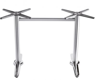 Trieste Rectangular Aluminium Table Base