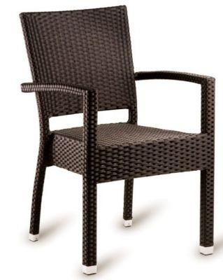 Londi Brown Weave Armchair