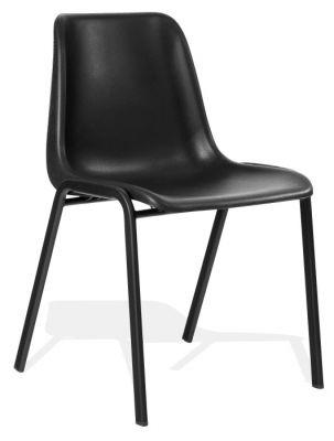 DK Black Next Day Poly Chair