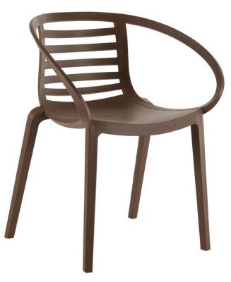 Lyca Armchair In Brown