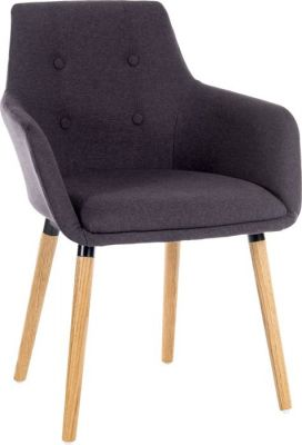 Toxedo Designer Armchair Charcoal