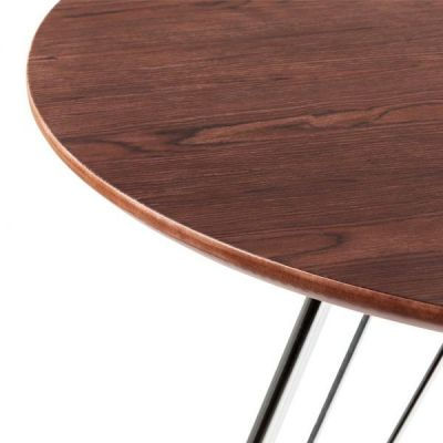 Stockholm Table Walnut Detail