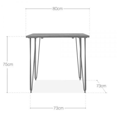 Hairpin Table Dims