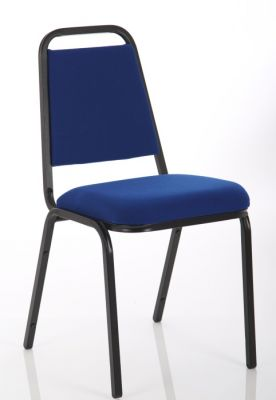 Polo Banqueting Chair In Blue Angle Shot