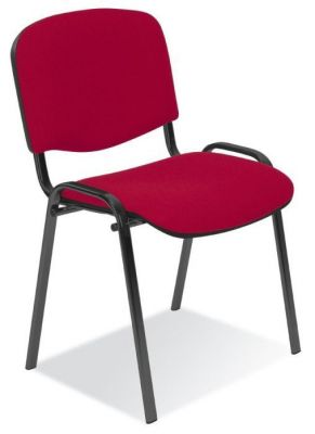 Stakka Chair Red Fabric