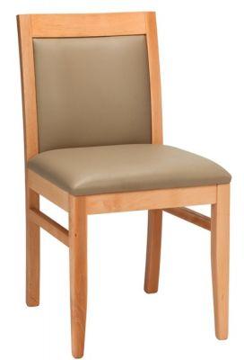 Trafalgar Leather Dining Side Chair