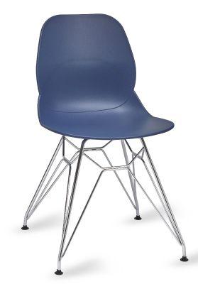 Mylo V5 Chair With A Pyramid Frame Dark Blue