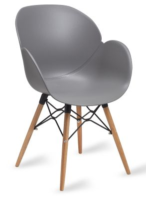 Mylo V9 Armchair In Grey