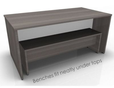 Avalon Prime Bench Anthracite And White