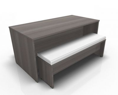 Avalon Prime Dining Setin Anthracite With Cream Upholstery