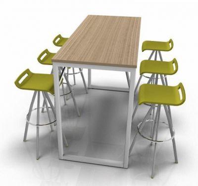Avalon Loop Bar Height Table