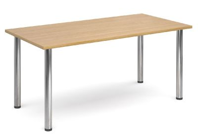 GM Rectangular Table With An Oak Top