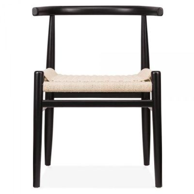 Svenda Chair With A Black Frome Front View